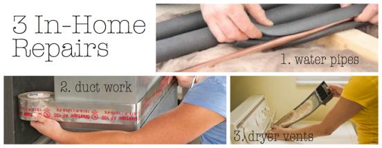 3 In-Home Repairs