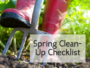 spring clean-up checklist