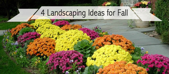 4 Landscaping Ideas for Fall