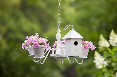 chandelier bird feeder